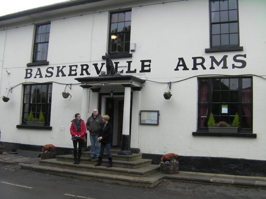 The Baskerville Arms: Very nice pub/hotel