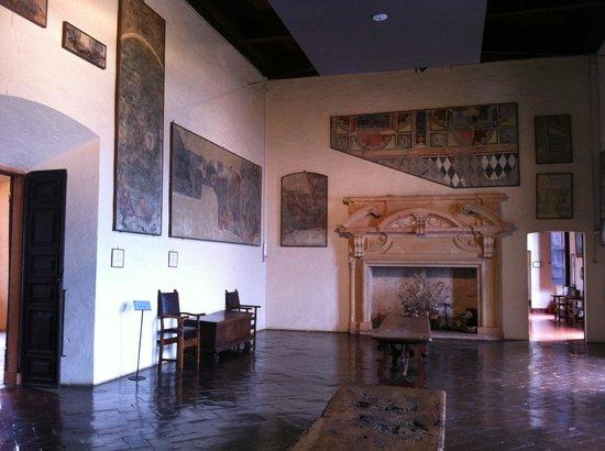 Rocca di Angera, interno