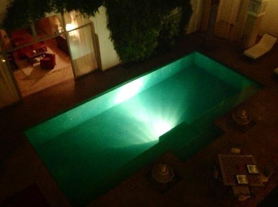 Riad Shama: piscine