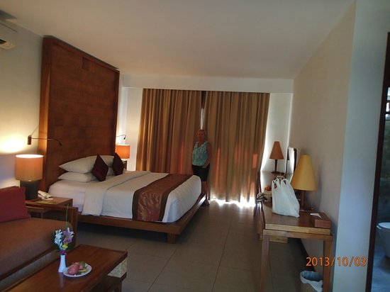Rama Candidasa Resort & Spa: view of our room
