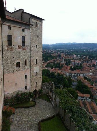 Rocca di Angera, panorama