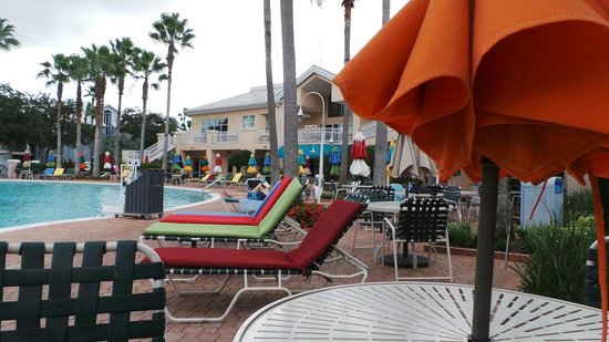 Cypress Pointe Resort : Pool side