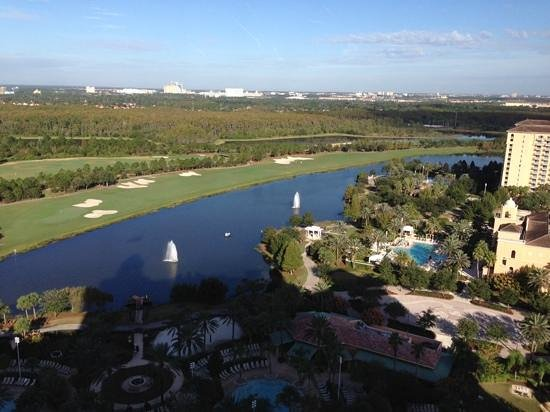 JW Marriott Orlando, Grande Lakes: View from the room on 23rd