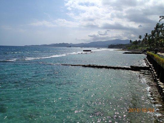 Rama Candidasa Resort & Spa: beach view