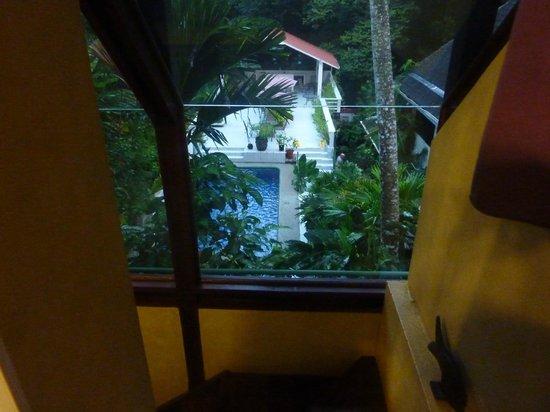 Hotel Mandarina: vue de la chambre