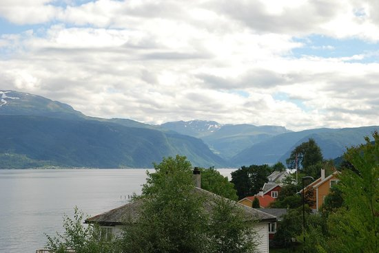 Balestrand Hotel: Fjords view from the room