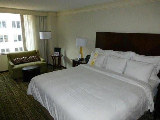 Washington Marriott at Metro Center: Bed