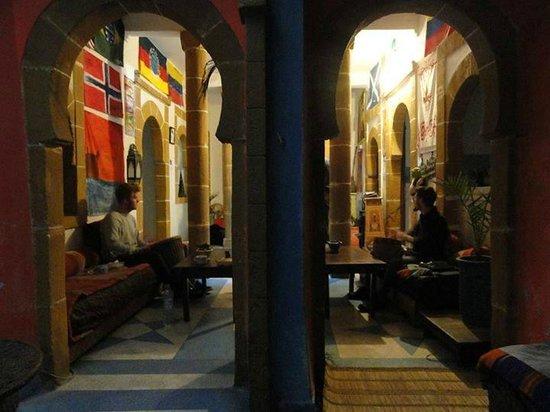 Atlantic Hostel: music place