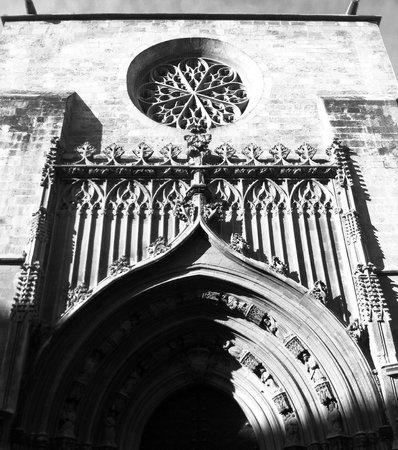 Catedral de Santa María: Вид сбоку