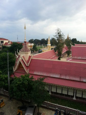 The Frangipani Royal Palace Hotel: view from room