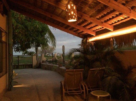 Hamman's Vacaciones de Renta en Loreto: From Mango Deck entrance looking out