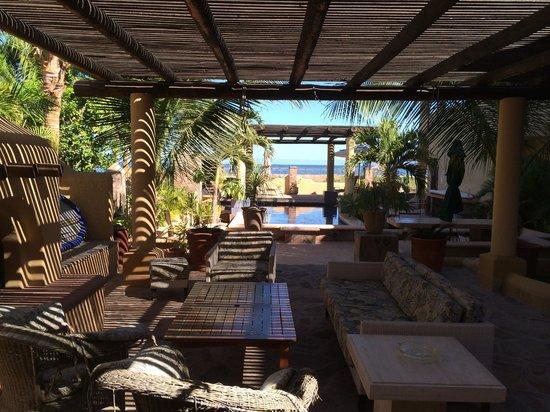 Hamman's Vacaciones de Renta en Loreto: Pool and hot tub area