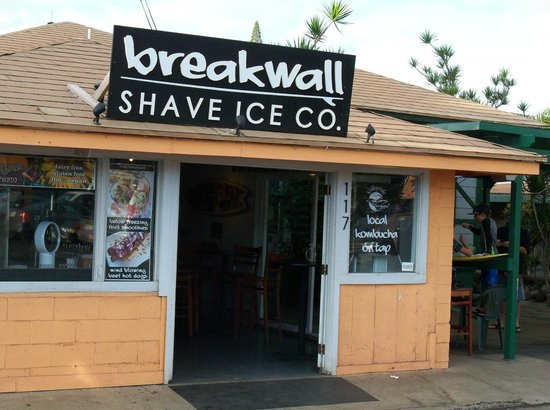 Breakwall Shave Ice Co.: Breakwall Shave Ice on Prison St.
