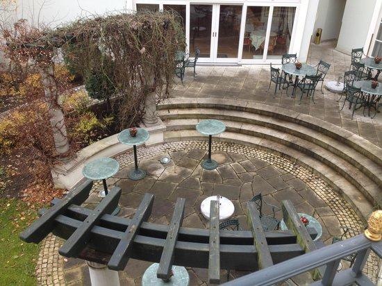 Romantik Hotel Am Jagertor Potsdam: Courtyard
