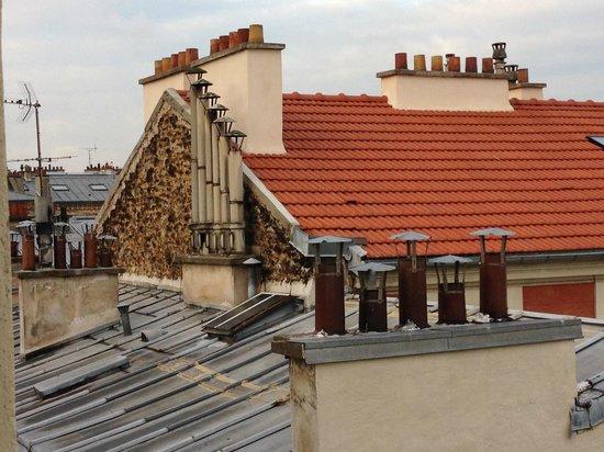 Hotel Boissiere: vue sur les toits