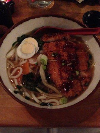 Zen Japanese & Oriental Restaurant: Udon 3/5