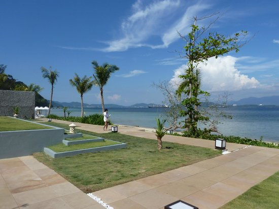 Gaya Island Resort : View