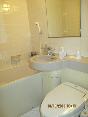 Hotel Lungwood: Small, but very clean & efficient!