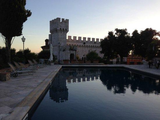 Castello delle Serre: The castle