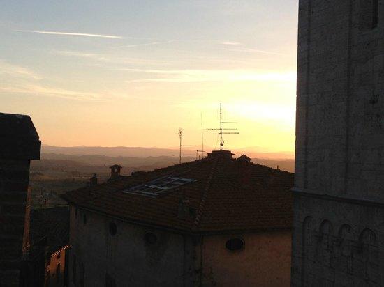 Castello delle Serre: Sunset