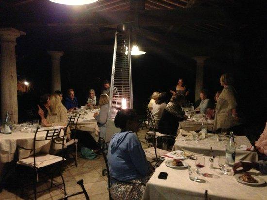 Castello delle Serre: Guest Dinner
