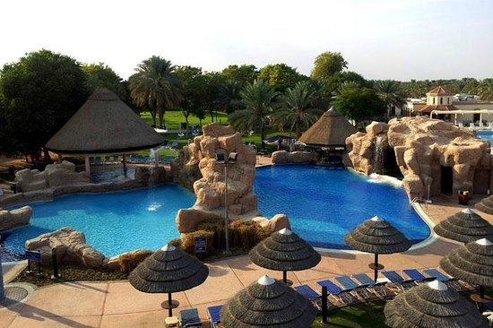 Danat Al Ain Resort: great swimming pool