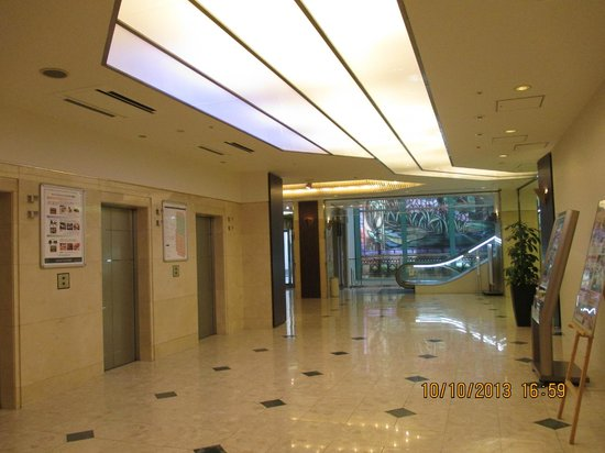 Hotel Lungwood: Part of hotel lobby