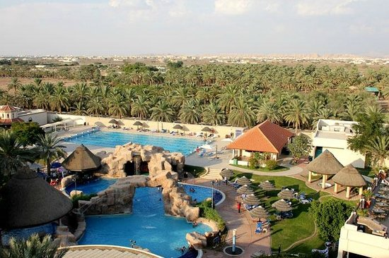 Danat Al Ain Resort: view from the room