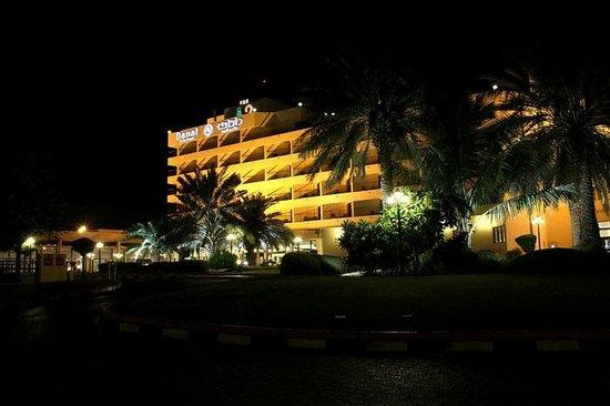 Danat Al Ain Resort: the entrance