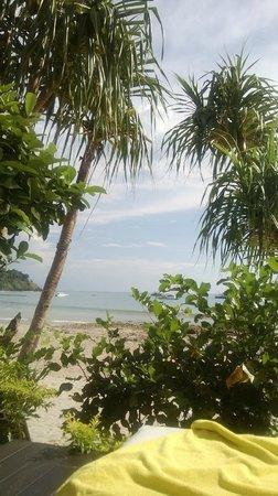 Phra Nang Lanta: view from the pool