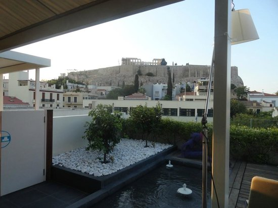 Herodion Hotel: Terrace