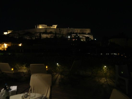 Herodion Hotel: Terrace´s view