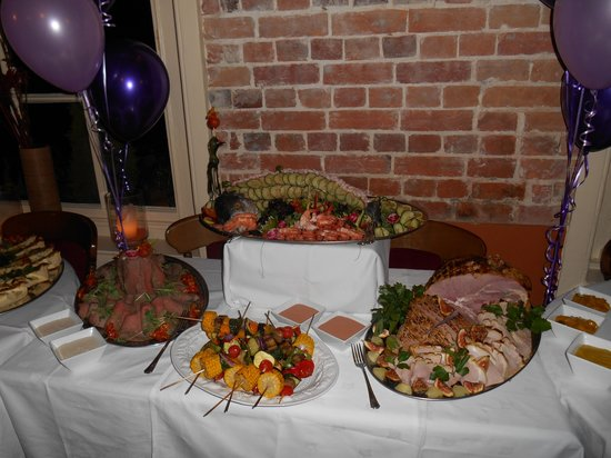 The Castle Inn Hotel: 80th party buffet