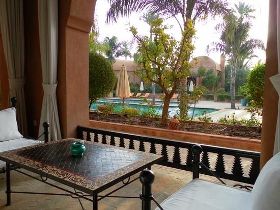 Palais Aziza & Spa : private terrace