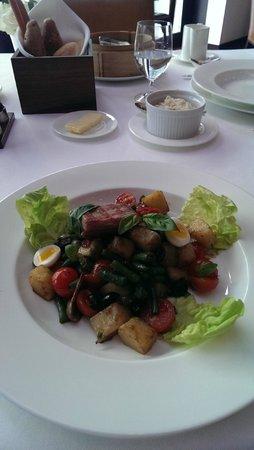 The Square: Nicoise salad