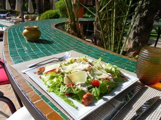Palais Aziza & Spa: lunch... ceasar salad