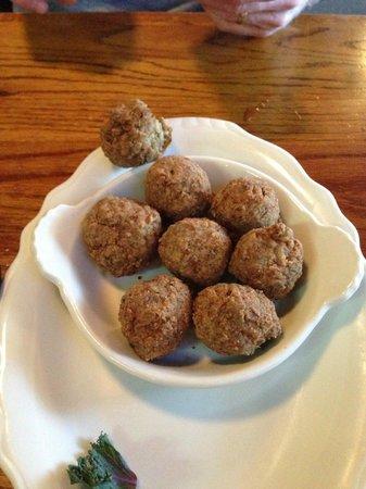 The Chimes Restaurant & Tap Room : Boudin Balls