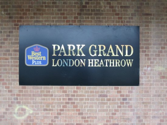 Best Western Plus Park Grand London Heathrow : Park Grand London Heathrow