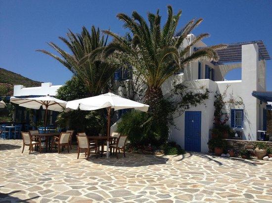 Villa Marandi Luxury Suites: Hotel Restaurant
