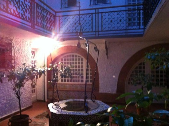 Royal Wilson: patio intérieur:magnifique