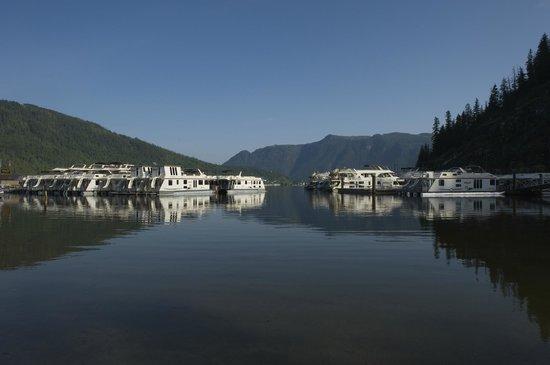 Sicamous, Canada: Waterway marina