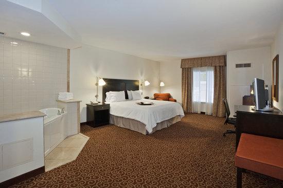 Hampton Inn Kingston: King Whirlpool Suite
