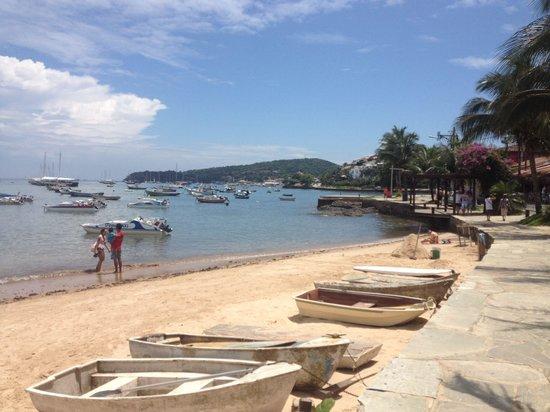 Rio Buzios Beach Hotel: Next to beach
