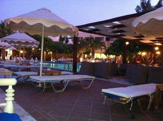 Elounda Palm Hotel : Piscina e zona bar