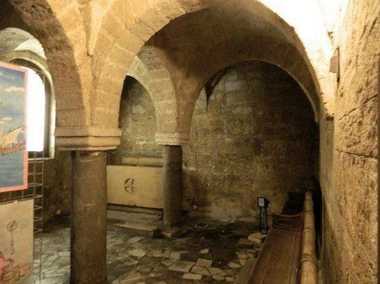 Taranto Catherdral - Duomo of San Cataldo : La Cripta