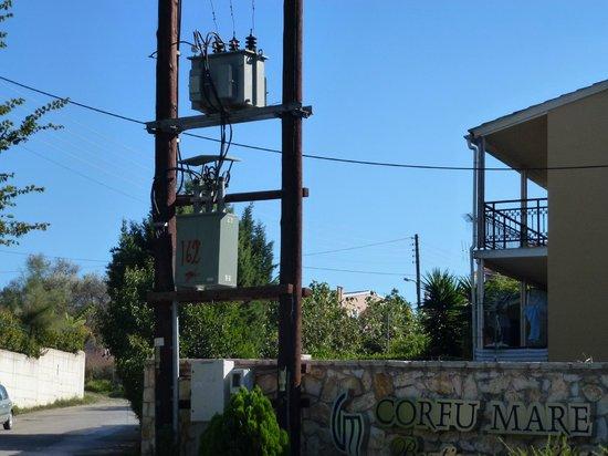 Corfu Mare Boutique Hotel: Hotel entrance