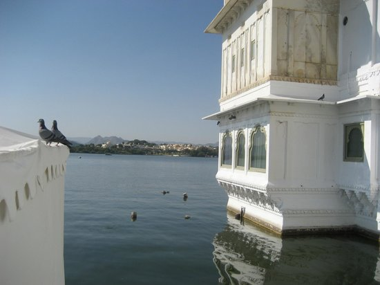 Taj Lake Palace Udaipur: View from Taj Lake palace