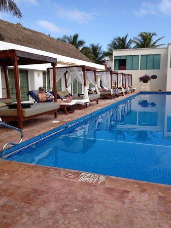 El Dorado Sensimar Riviera Maya: Quiet pool