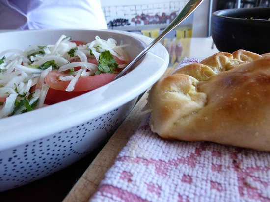 Chilean Cuisine Cooking Classes : empanada's and peverey salsa
