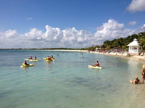 El Dorado Sensimar Riviera Maya: view towards the next resort